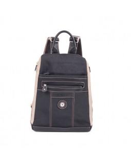 Mouflon Bicolor Backpack Black / Taupe