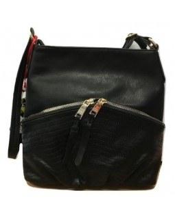 KGB Studio Crossbody Handbag Angelica Black