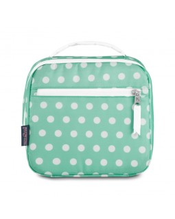 JanSport Lunch Break Box Bag Cascade Polka Dot