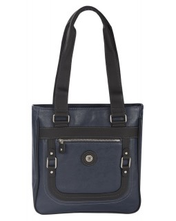 Mouflon Generation Large Tote Bag Navy Blue / Black