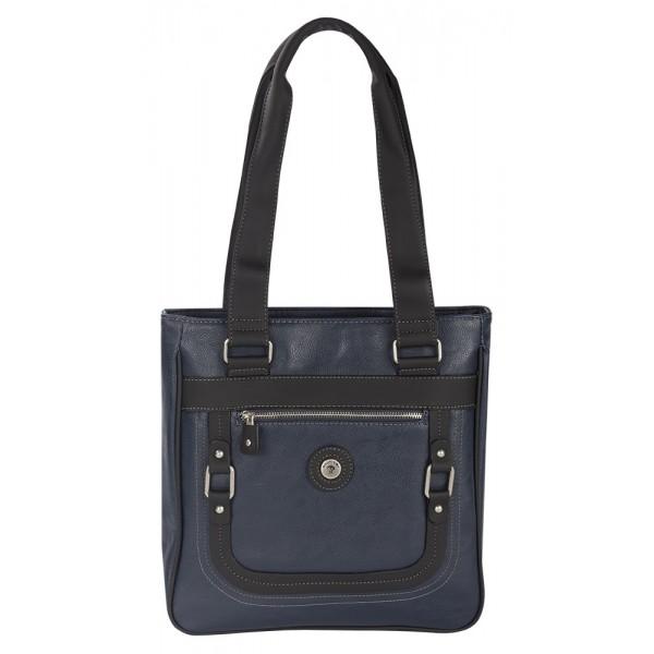 Mouflon Generation Large Tote Bag Navy Blue / Black