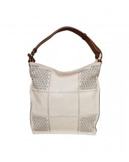 KGB Alise Hobo Handbag Convertable Crossbody Beige