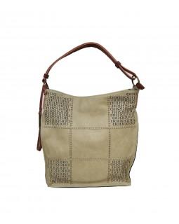 KGB Alise Hobo Handbag Convertable Crossbody Light Green