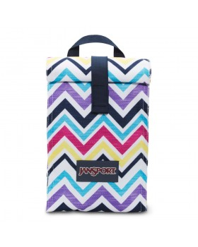 Jansport Rolltop Lunch Bag Multi Sauck Chevron