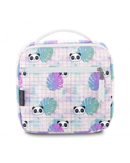 JanSport Lunch Break Box Bag Hide and Seek Panda