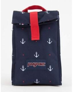 Jansport Rolltop Luch Bag Red Tape Land Ahoy