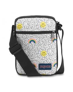 JanSport Weekender Mini Bag Smiles and Rainbows
