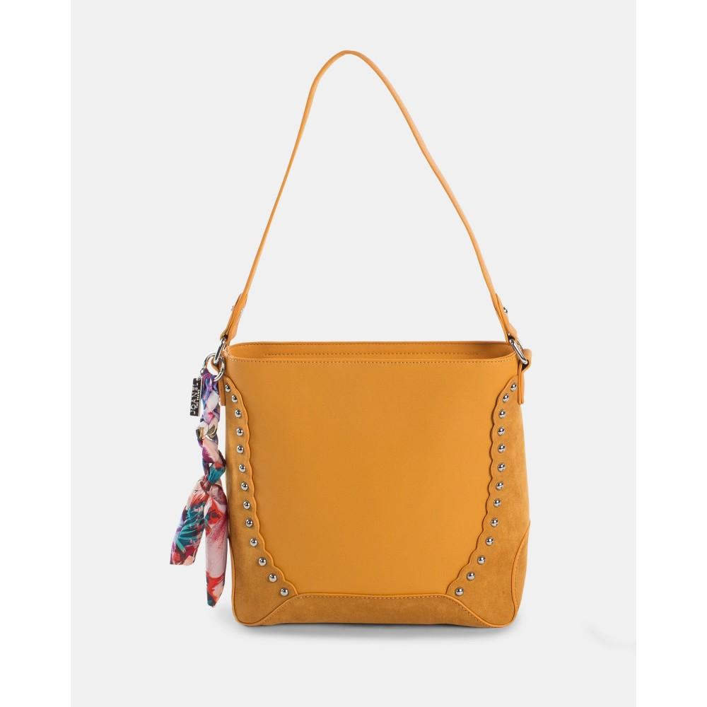 Joanel Pixie Hobo Bag Rusty Red