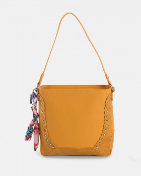 Joanel Pixie Hobo Bag Rusty Red