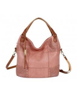 KGB Shoulder Handbag Sonya Convertable Crossbody Pink