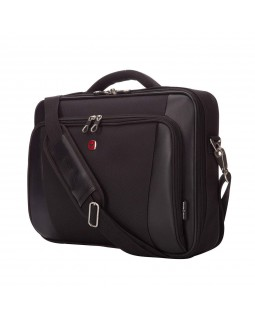 "Swiss Clamshell Gear Business Case With 15.6"" Laptop Section"