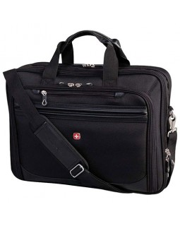 "Swiss Gear 13"" to 17"" Flex-Fit Laptop System Deluxe Laptop Case"