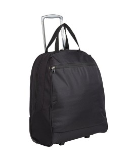 "Rosetti 17"" Wheeled Tote Bag Shopper Black"