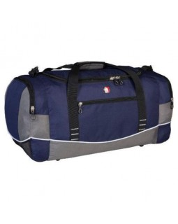 "Swiss Gear Wenger 26"" Duffel Bag Blue with Grey"