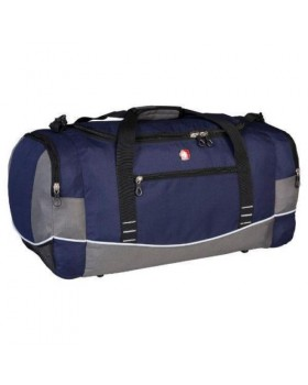 "Swiss Gear Wenger 26"" Duffel Bag Blue with Grey"