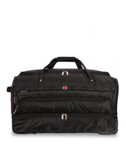 "Swiss Gear 28"" Wheeled Duffel Bag Wenger Black"