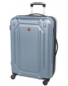 "Swiss Gear 24"" Spinner Expandable Luggage Escapade 3 Light Blue"
