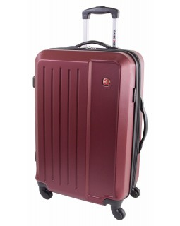 "Swiss Gear 24"" Spinner Expandable Luggage Victorious Red"
