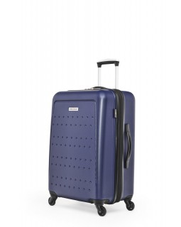 "Swiss Gear 3D Lite 24"" Hard Side Spinner Expandable Luggage Blue"