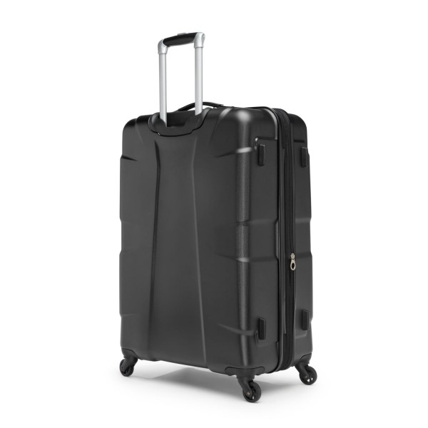 """Swiss Gear Cote D'Azure 28"""" Spinner Expandable Luggage Black"""