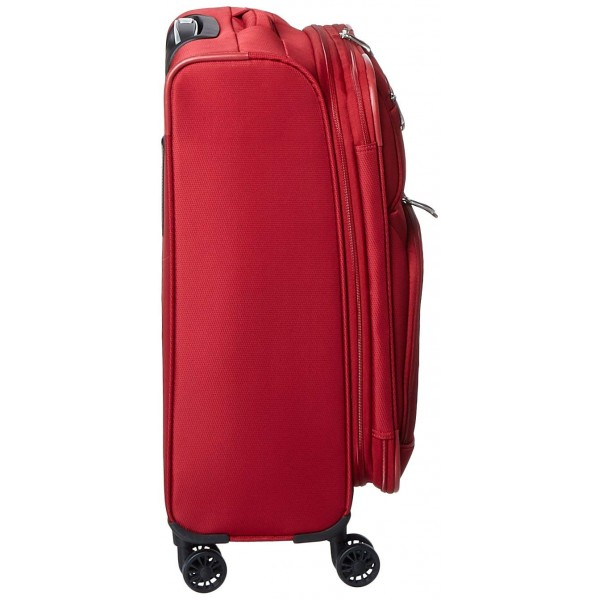"""Skyway 21"""" Spinner Carry-On Luggage Sigma 5.0 Merlot Red"""