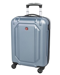 "Swiss Gear 20"" Spinner Carry-On Luggage Escapade 3 Light Blue"