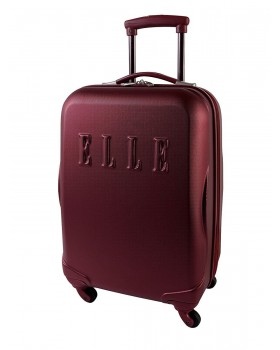 "ELLE 20"" Carry-On Luggage Oxblood"