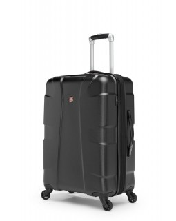 "Swiss Gear Cote D'Azure 24"" Spinner Expandable Luggage Black"