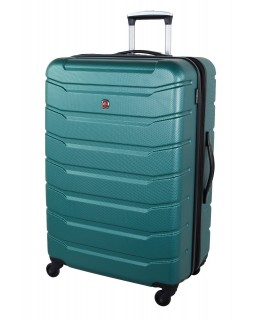 "Swiss Gear 28"" Spinner Expandable Luggage Vaiana Teal"