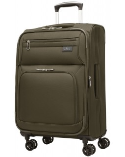 "Skyway 21""  Spinner Carry-On Luggage Sigma 5.0 Forest Green"