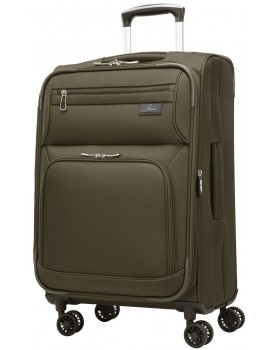 """Skyway 21""""  Spinner Carry-On Luggage Sigma 5.0 Forest Green"""