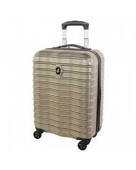 "Atlantic Desination II 20"" Spinner Carry on Luggage Champagne"