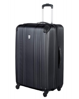 "Atlantic 28"" Spinner Expandable Luggage Odyssey Black"