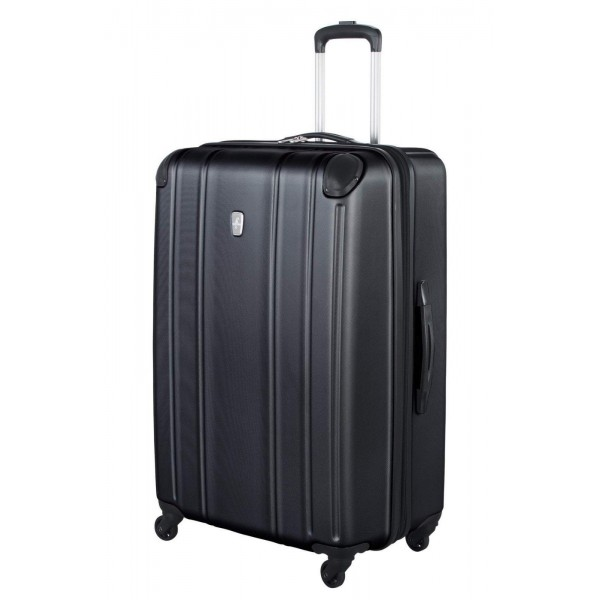 "Atlantic 28"" Spinner Expandable Luggage Odyssey Black"