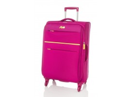 "Rosetti 28"" Expandable Spinner Suitcase Sunshine 17 Berry"