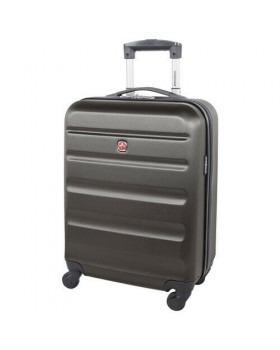 "Swiss Gear Silver Star 20"" Spinner Carry on luggage Charcoal"