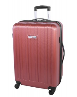 "Swiss Gear 24"" Spinner Expandable Luggage Travelite Orange"