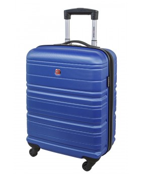 """Swiss Gear 20"""" Spinner Carry-On Luggage Migration Royal Blue"""