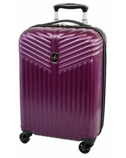 "Atlantic Priority 3 20"" Spinner Carry on Luggage Purple"