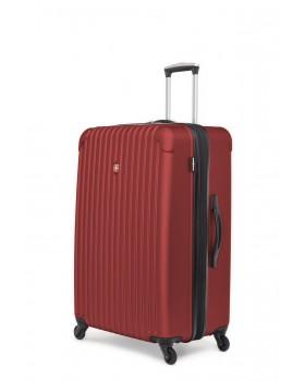 "Swiss Gear Linigno 28"" Hard Side Spinner Expandable Luggage Burnt Orange"