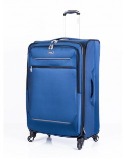 "Ricardo Beverly Hills 28"" Expandable Spinner Luggage Santa Barbara Blue"