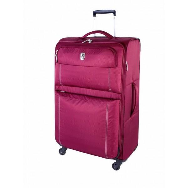 "Atlantic 28"" Spinner Expandable Luggage Velocity Lite Raspberry"
