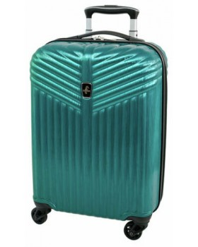 "Atlantic Priority 3 20"" Spinner Carry on Luggage Blue"