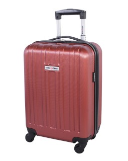 "Swiss Gear 20"" Spinner Carry-On Luggage Travelite Orange"