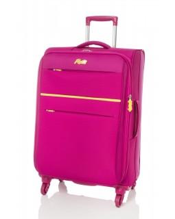 "Rosetti 24"" Expandable Spinner Suitcase Sunshine 17 Berry"