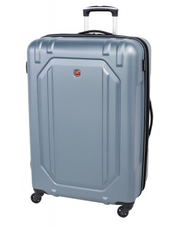 "Swiss Gear 28"" Spinner Expandable Luggage Escapade 3 Light Blue"