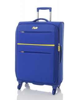 "Rosetti 24"" Expandable Spinner Suitcase Sunshine 17 Blue"