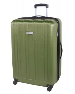"Swiss Gear 28"" Spinner Expandable Luggage Travelite Green"