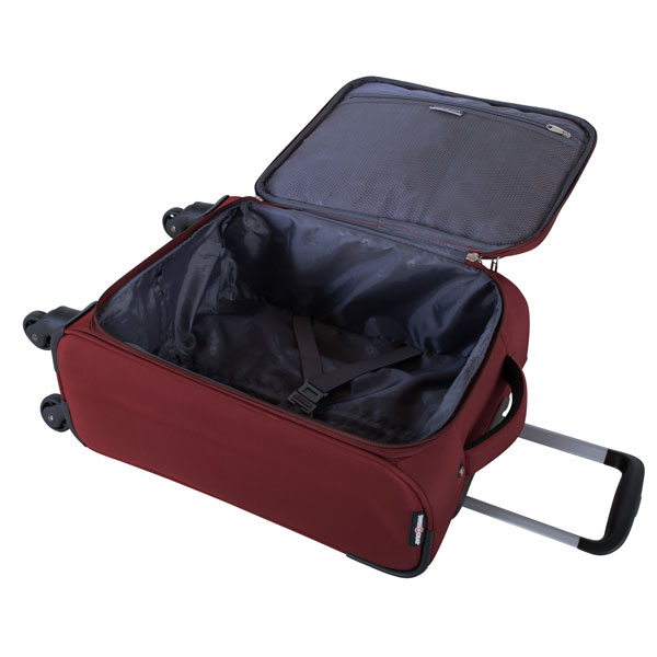 """Swiss Gear Barenhorn 20"""" Spinner Carry on luggage Red"""