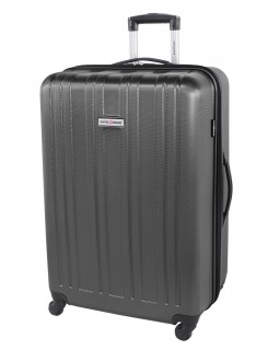 "Swiss Gear 28"" Spinner Expandable Luggage Travelite Dark Charcoal"